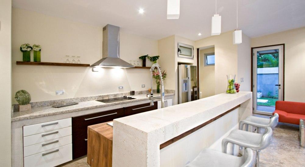 Modern Small Open Kitchen Bar Ideas
