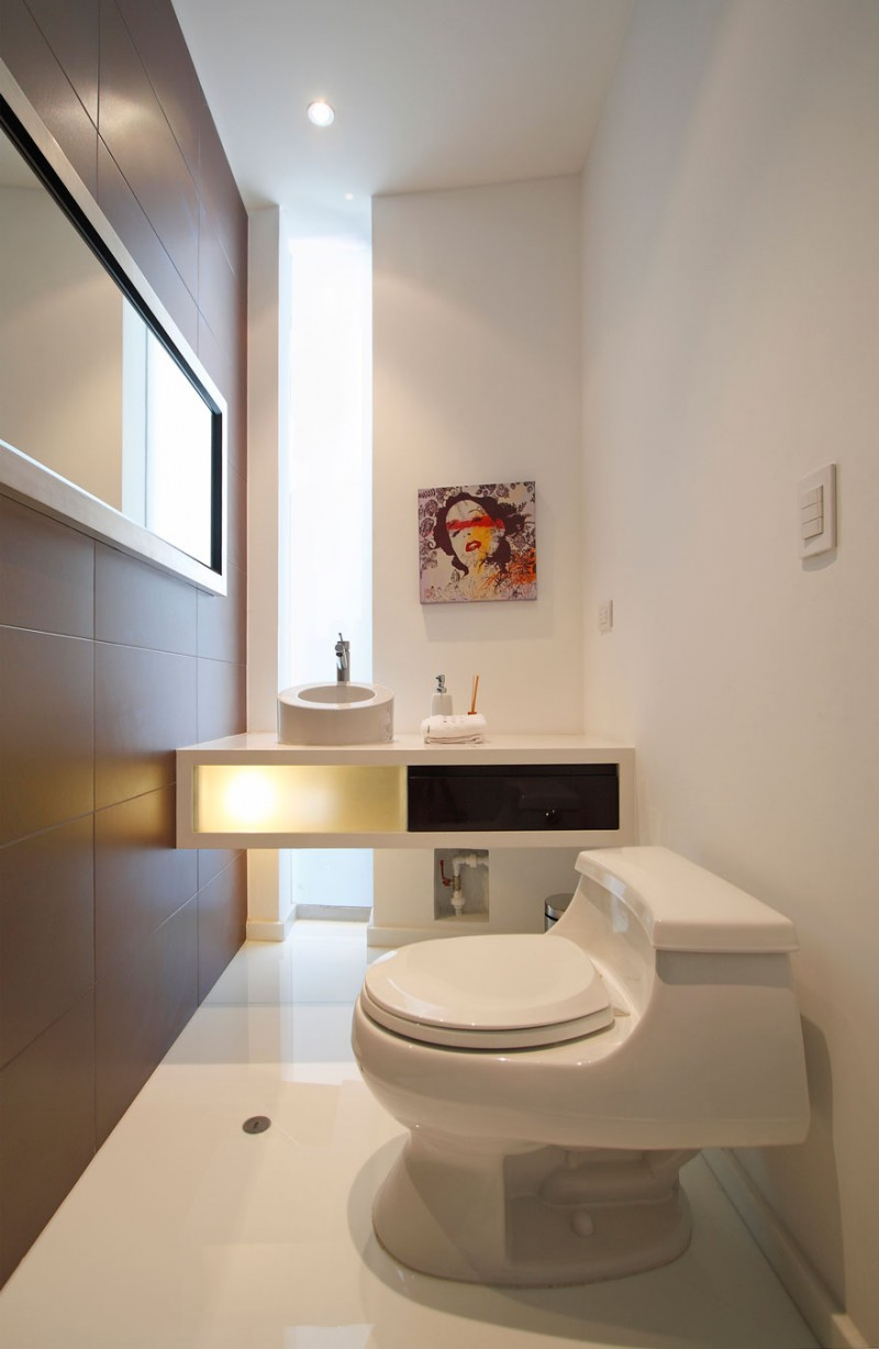 31 modern home decor ideas for 2016 for Toilet room decor