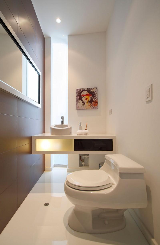 Nice Modern Home Decor Bathroom