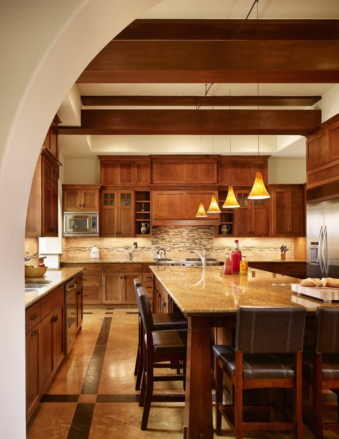 Http Www Dwellingdecor Com Remodel Your Craftsman Kitchen