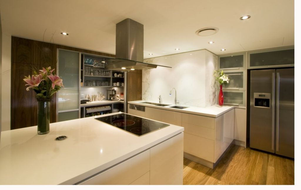 Round-ceiling-lamp-modern-contemporary-kitchens