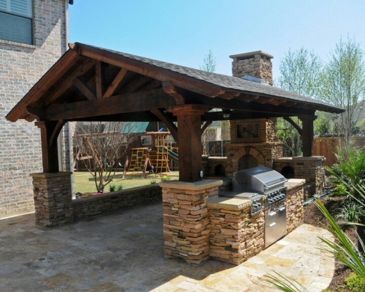 15 best rustic outdoor design ideas Rustic outdoor kitchen designs