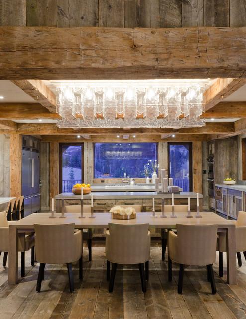 Rustic Redux rustic-dining-room