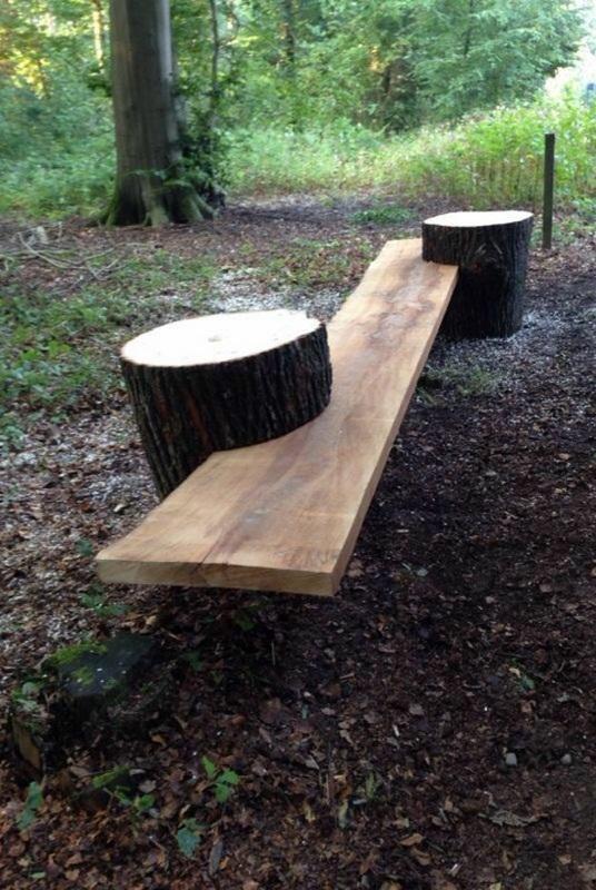 Rustic garden furniture garden bench Stone Outdoor Furniture