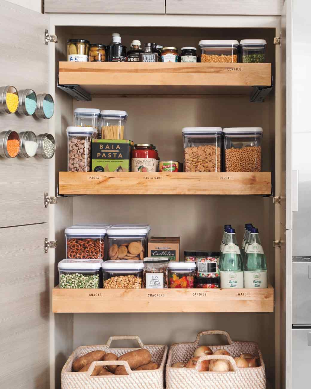 Get organized with these 25 kitchen storage ideas for Kitchen storage ideas for small kitchens