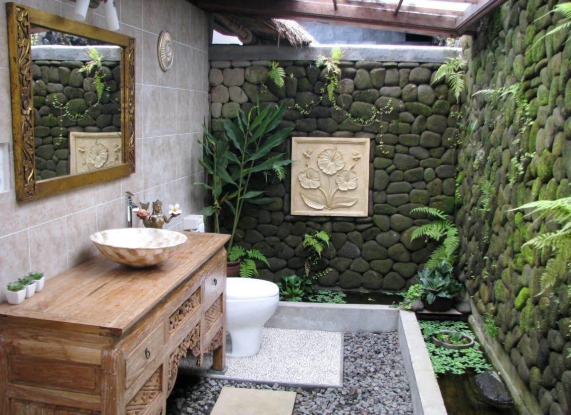 Small Tropical Bathroom Ideas