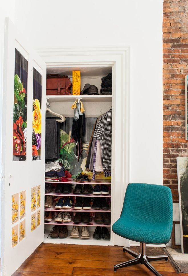 25 best eclectic closet design ideas - Storage solutions for small closets ...