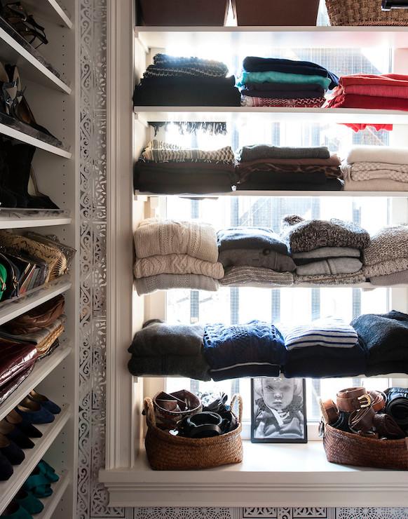Sweater Shelves