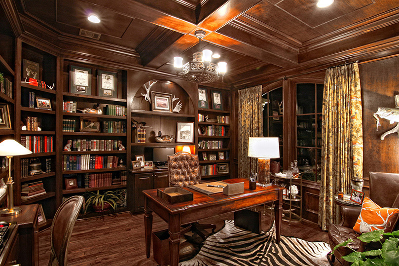 25 traditional home office designs are guaranteed to love for Traditional home decor