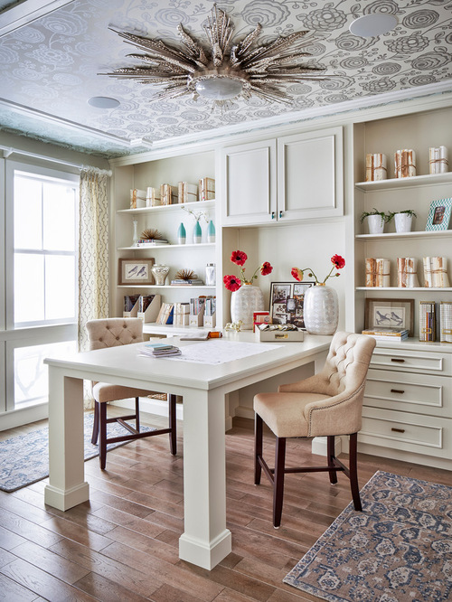 25 traditional home office designs are guaranteed to love - Home office layout design ...