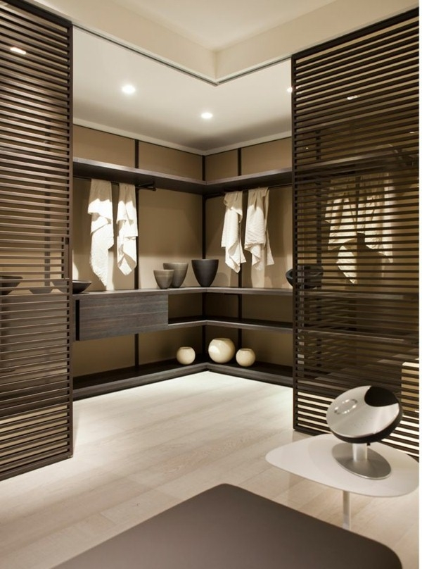 Ideas Of Modern Storage Closet Pertaining To Modern Walk In Closet Plan
