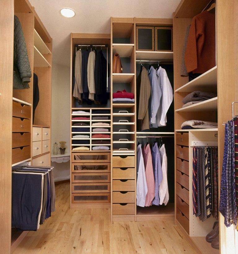 Walk In Closet Designs as Cozy Storage Area