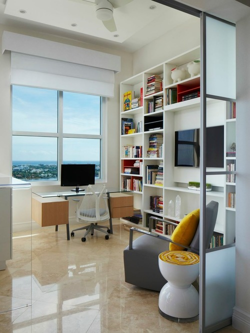 beach house Home Office Design Photos