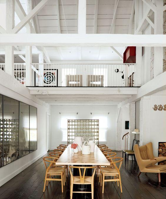 10 White Rustic Rooms: 30 Amazing Rustic Dining Room Design Ideas
