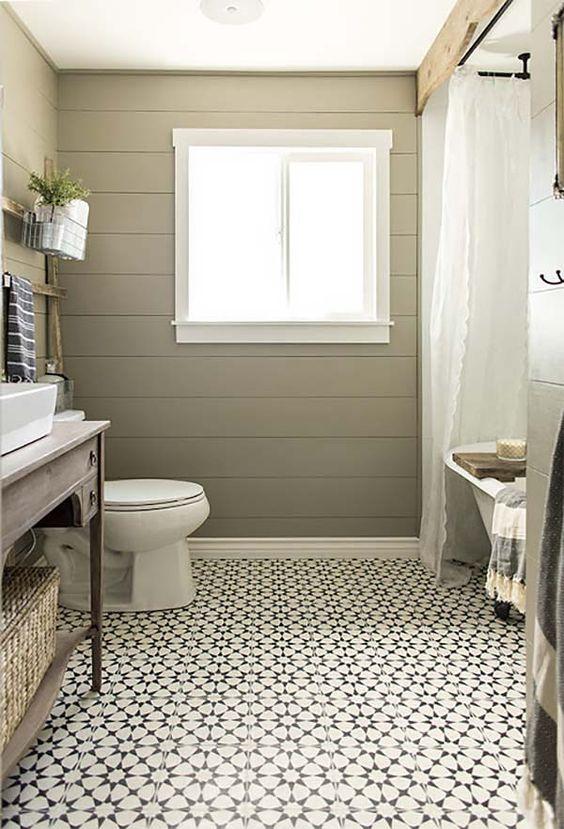 Creating A Beautiful Bathroom With Farmhouse Design on Farmhouse Bathroom Tile  id=62867