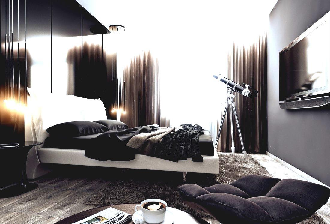 30 best bedroom ideas for men for Modern bedroom designs ideas