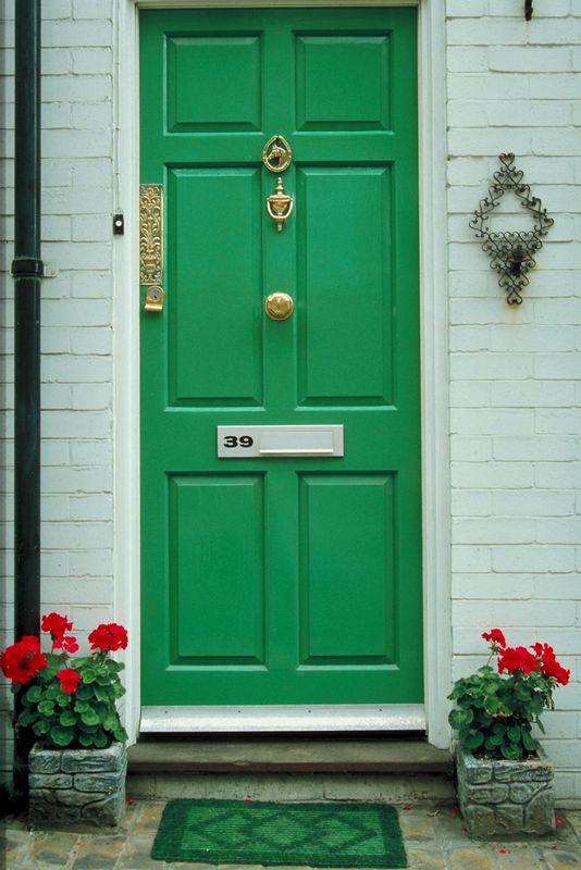 green-front-door