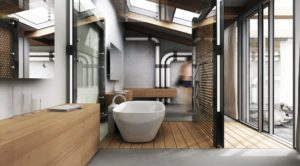 30 Awesome Industrial Bathroom Design Ideas