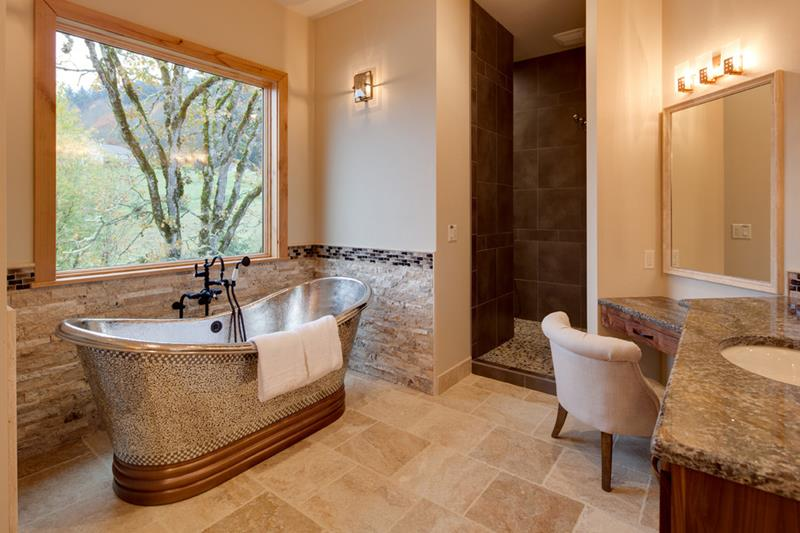 luxury showers will be open to the bathroom