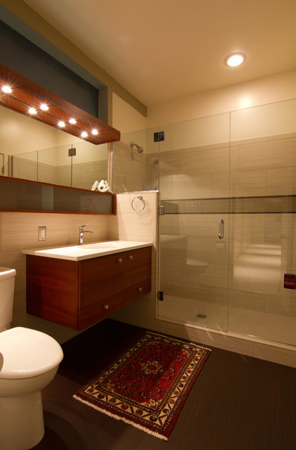 mid century modern bathroom contemporary bathroom