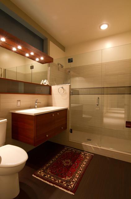 mid-century modern bathroom contemporary-bathroom