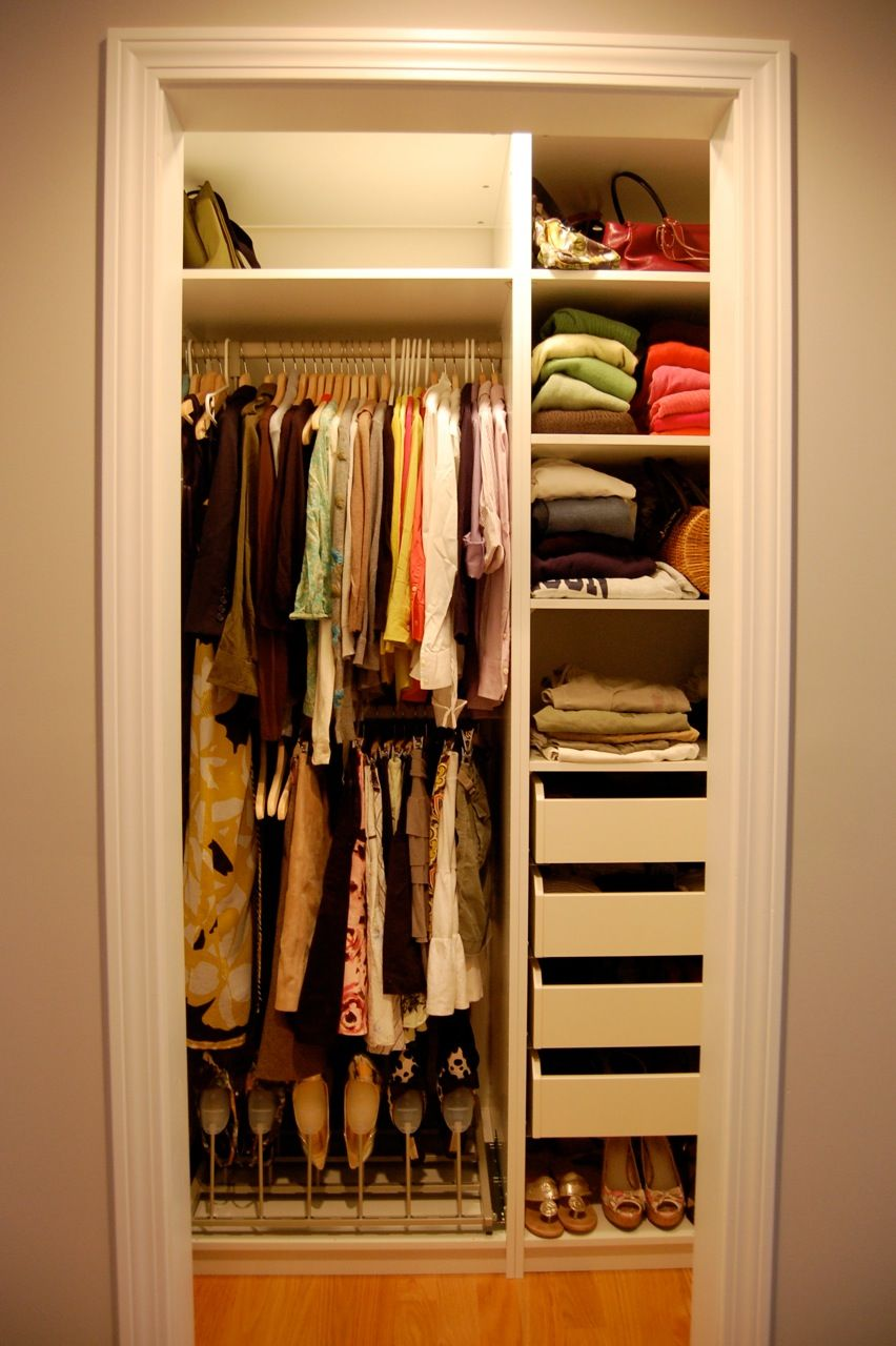 20 modern storage and closet design ideas - Small bedroom closet design ideas ...