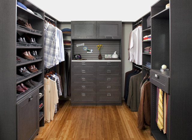 20 modern storage and closet design ideas for Walking closet modernos pequenos