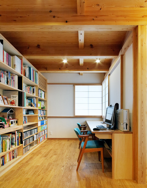 nspirational Asian Home Office