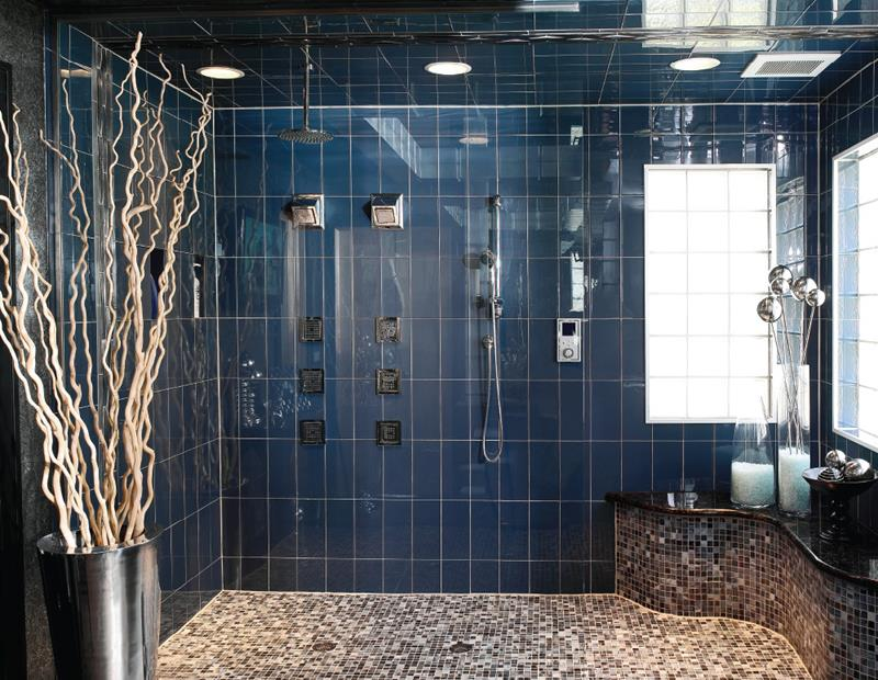Subway Tile For A Luxury Walk In Shower