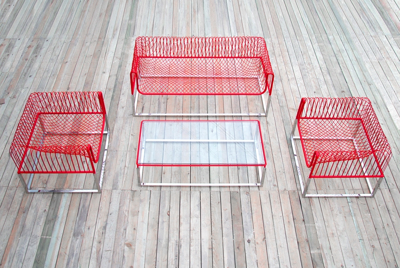 the entire outdoor furniture collection