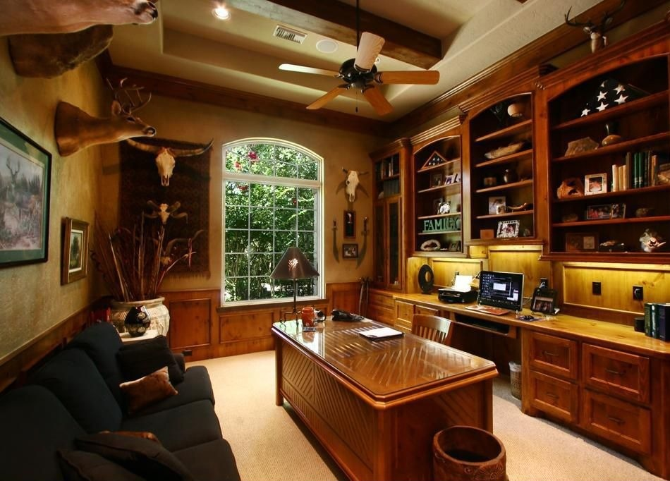 25 traditional home office designs are guaranteed to love for Traditional home office design