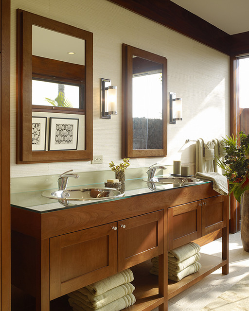 Design Bathroom Vanities Ideas ~ Wonderful tropical bathroom design ideas