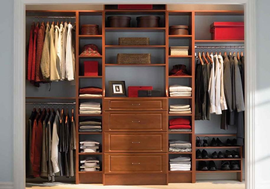 Wonderful Closet Ideas For Small Bedroom Modern Wooden Wardrobe Storage Design