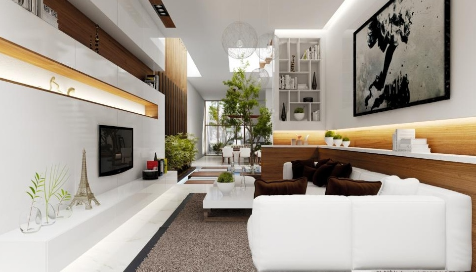 Amazing French Contemporary Living Room