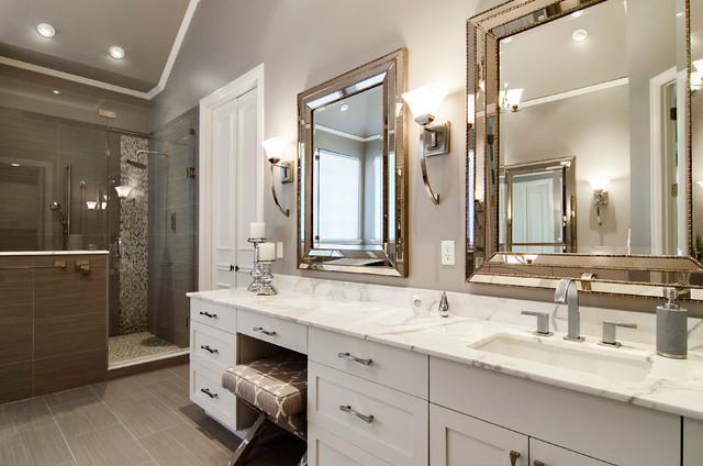 Beckington Master Bathroom transitional-bathroom