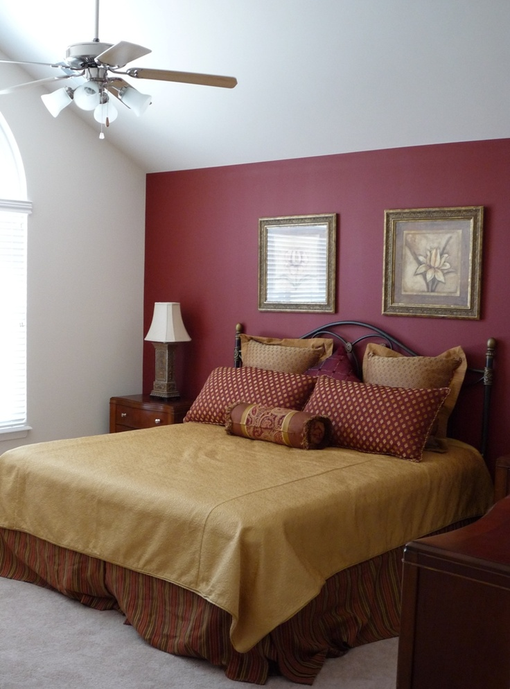 master bedroom accent wall most popular bedroom paint color ideas 15977