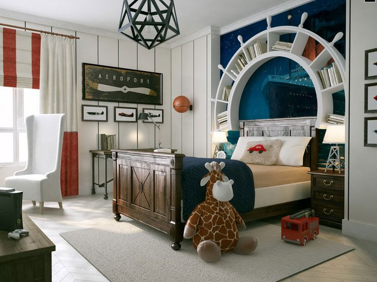Pirate Theme Kids Bedroom