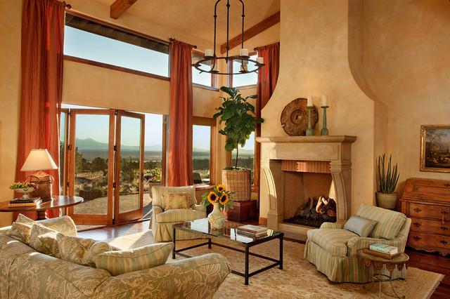 Tuscan Living Room Ideas (10)
