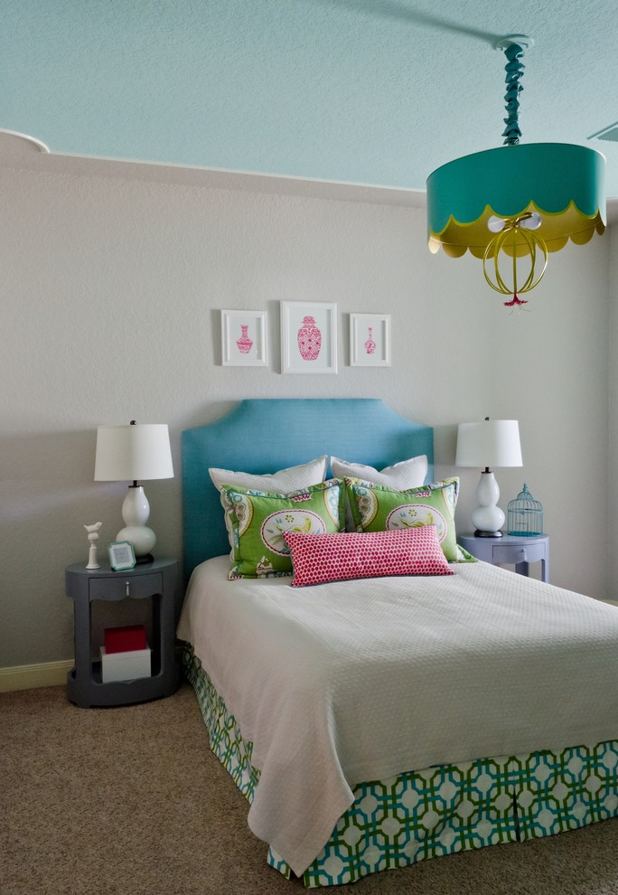 teenage-girl-bedroom-painting-ideas-contemporary-kids-with-a-asian-inspired