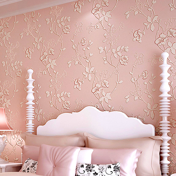 20 stunning bedroom wallpaper design ideas for Bedroom wallpaper designs india