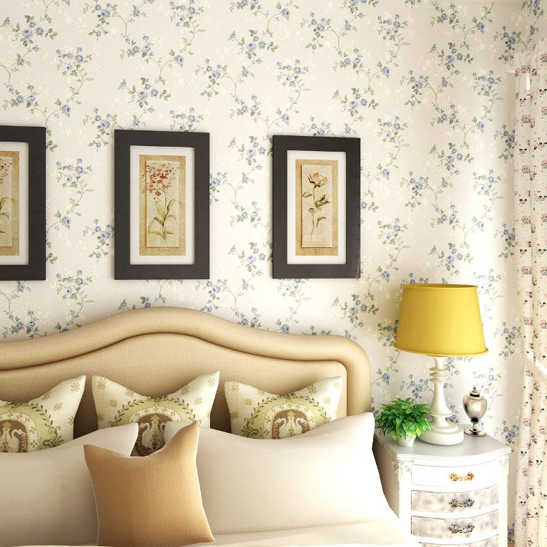20 stunning bedroom wallpaper design ideas for Bedroom designs with wallpaper