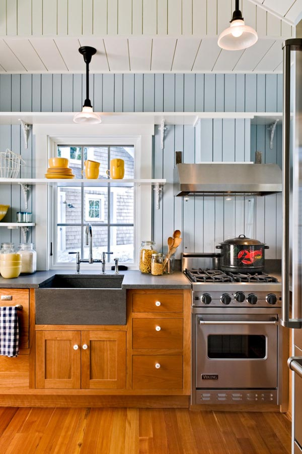 31 creative small kitchen design ideas for Small kitchen remodel pictures