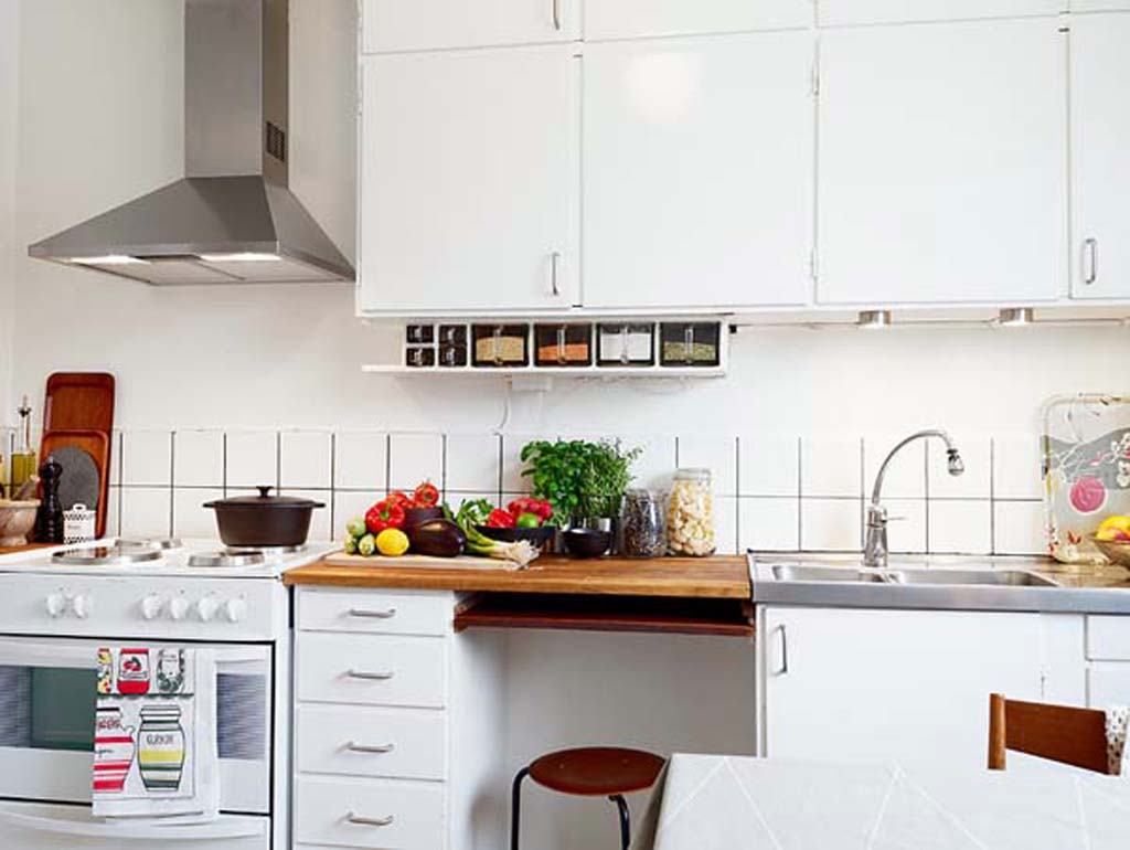 31 creative small kitchen design ideas for Small kitchen ideas