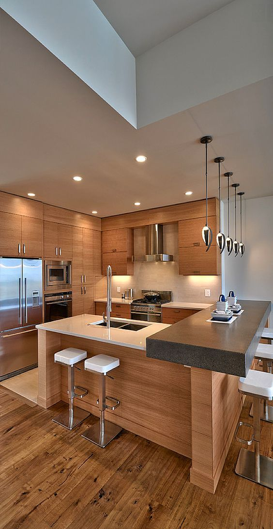 31 creative small kitchen design ideas for Modern kitchen design for condo
