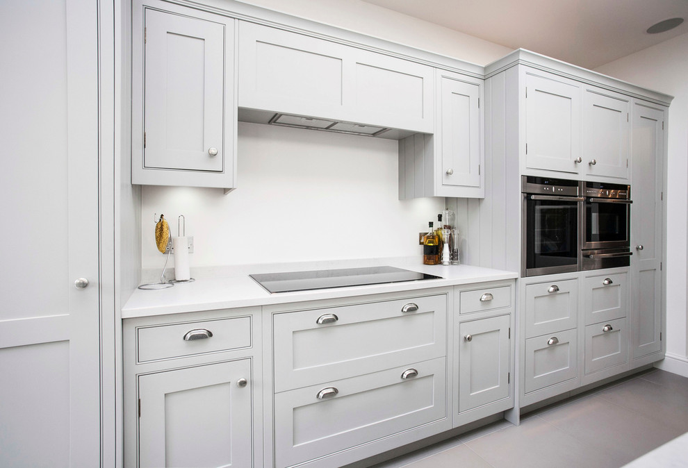 A look at contemporary kitchen installation for Built in kitchen cupboards for a small kitchen