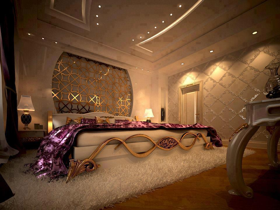 Elegant Romatic Bedroom Design
