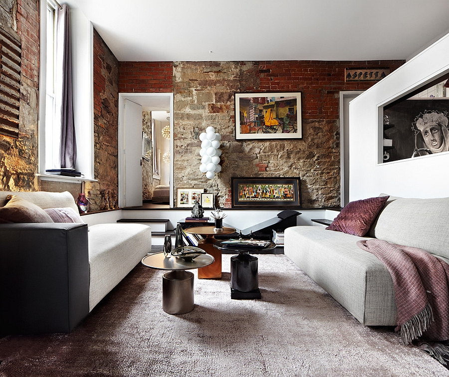 Living Room With Exposed Brick Wall (13)