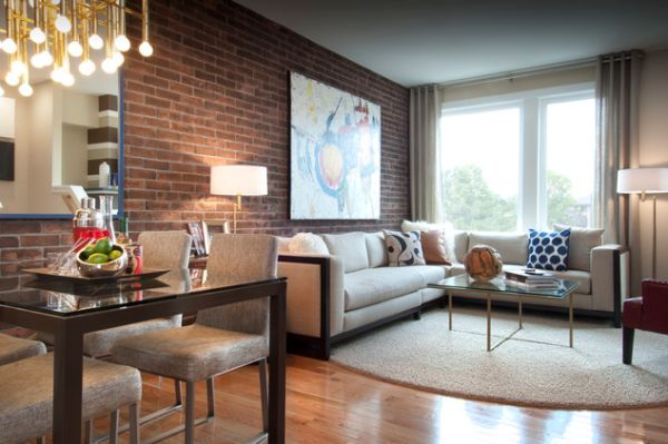 Living Room With Exposed Brick Wall (18)