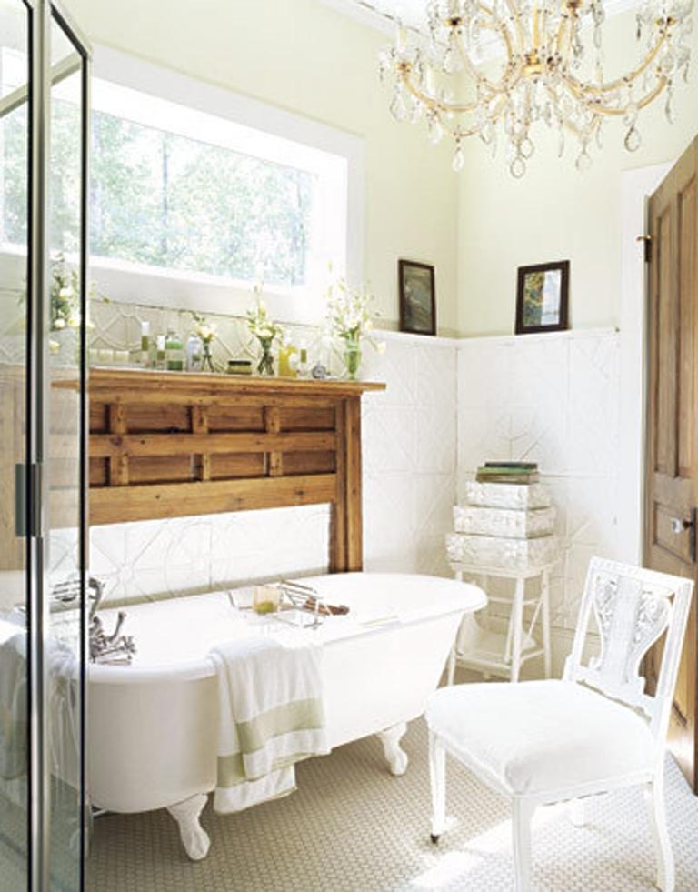 Luxury Bathroom With Natural Lighting