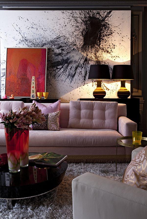 Splash Art Living Room